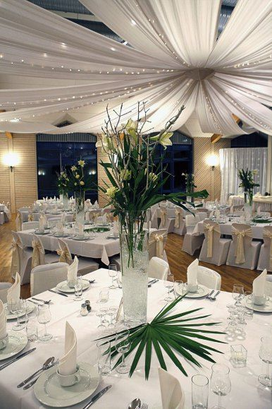Decken Dekoration Fur Hochzeiten Romantisch Wedding Pinterest