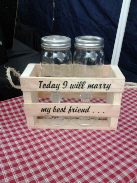 Today I will marry my best friend