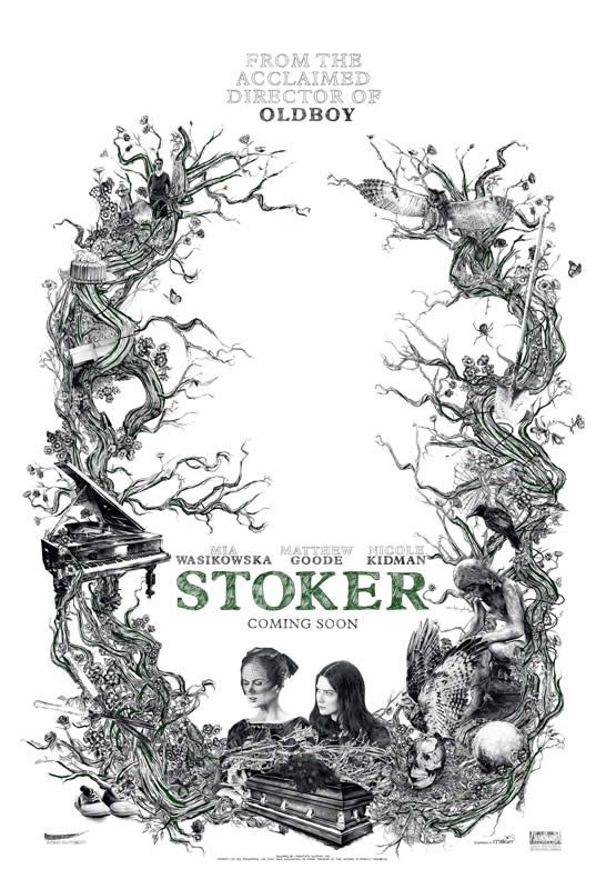 """Stoker""´s amazing poster"