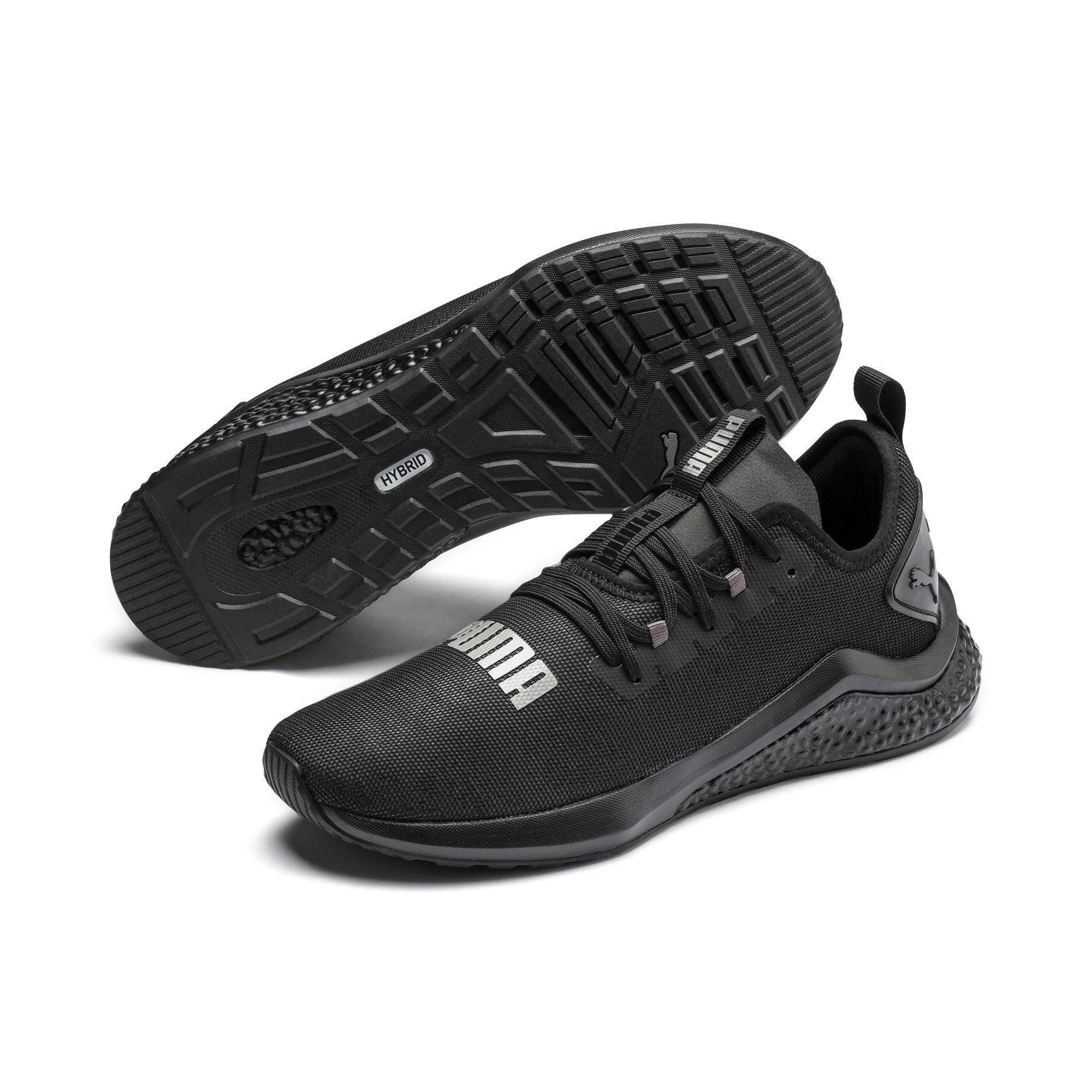 PUMA Hybrid Nx Rave Men's Running Shoes in Black size 10.5
