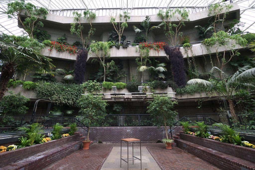 Anna Laub Prism Designer London Sky Garden Barbican Jungle Gardens