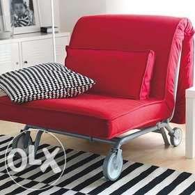 Ikea Fotel Rozkładanyłóżko Ps Lovas Kids Room Ikea