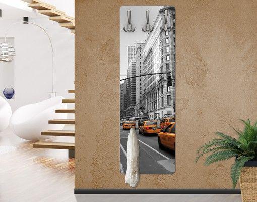 Wandgarderobe - New York, New York! - Garderobe Gelb #flur ... Dekoration Wohnen Ideen