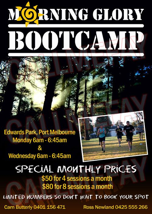 Callmefay At Fiverr Flyer For Butterly Boot Camp Workout Bootcamp Flyer
