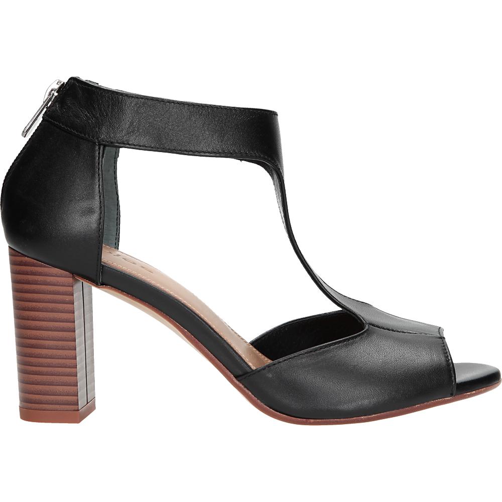 Czarne Damskie Sandaly 6796 51 Heeled Mules Shoes Heels
