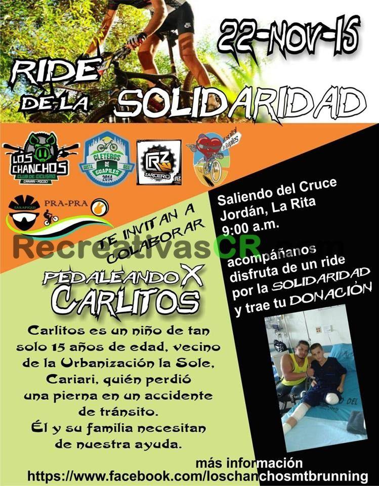 Recreativa MTB Ride de la Solidaridad 2015