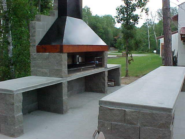 construction du0027un barbecue sur mesure Barbecues, Construction and - beton cellulaire en exterieur