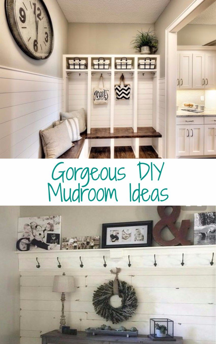 Awesome Dollar Store Dollar Tree Organization Hacks For Organizing Your Home On A Budget In 2020 Mudroom Mudroom Design Home