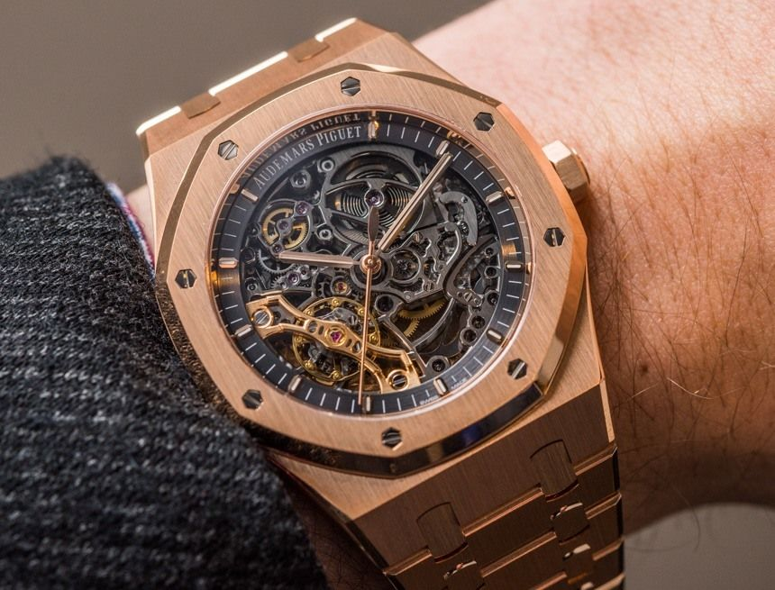 750ac3f4203 Audemars Piguet Royal Oak Double Balance Wheel Openworked Watches Hands-On  Hands-On