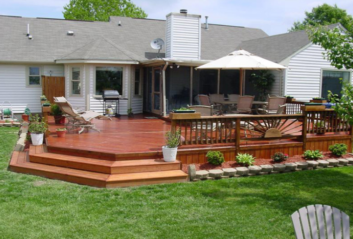 deck-ideas-for-a-mobile-home.png (703×477) | No More Mud Pit Back ...