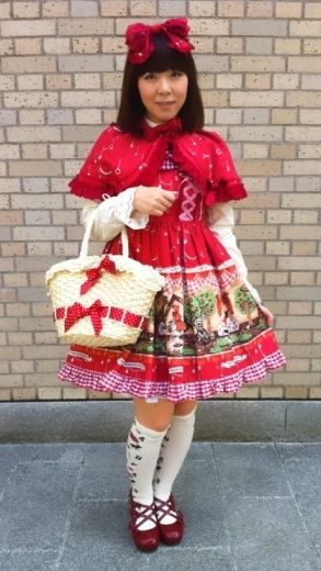 This looks like the new red riding hood outfit from BtSSB! ✩★✩