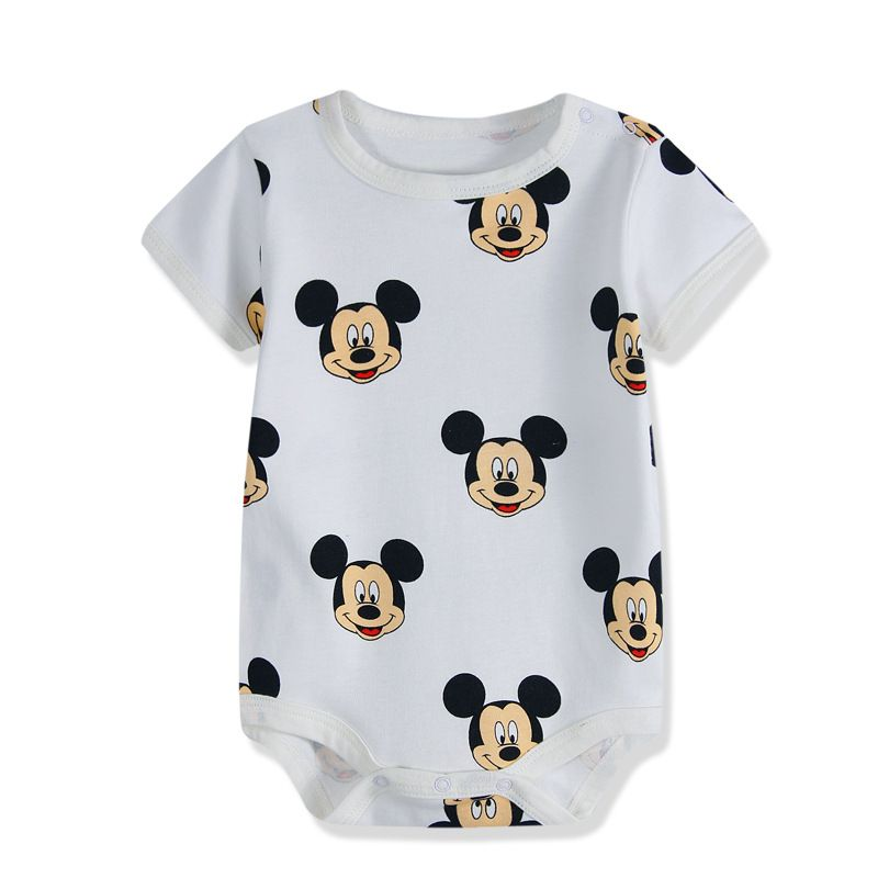 5ba47ad3455 New Summer Baby Boys Romper Animal style Short Sleeve infant rompers  Jumpsuit cotton Baby Rompers Newborn Clothes Kids clothing-in Rompers from  Mother ...