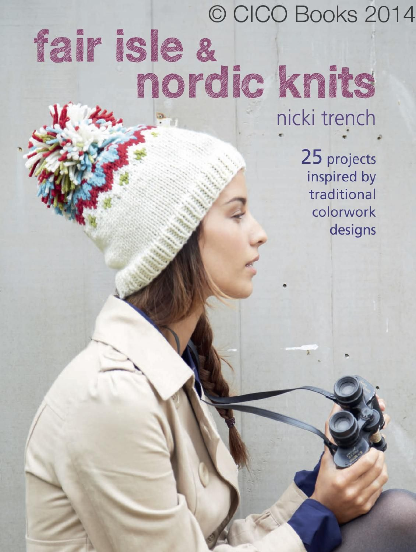 Fair Isle & Nordic Knits | Gorros, Revistas y Tejidos de punto