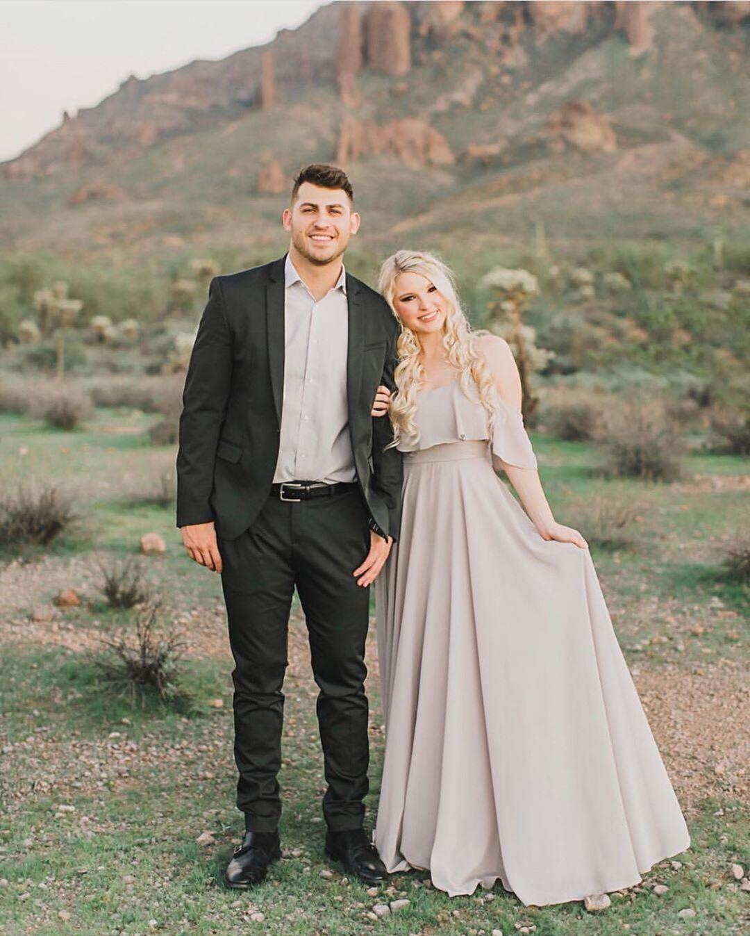 Morning Lavender Shopmorninglavender Instagram Photos And Videos Https Morninglavender Com Produ Ruffled Maxi Dress Wedding Guest Style Couple Outfits [ 1347 x 1080 Pixel ]