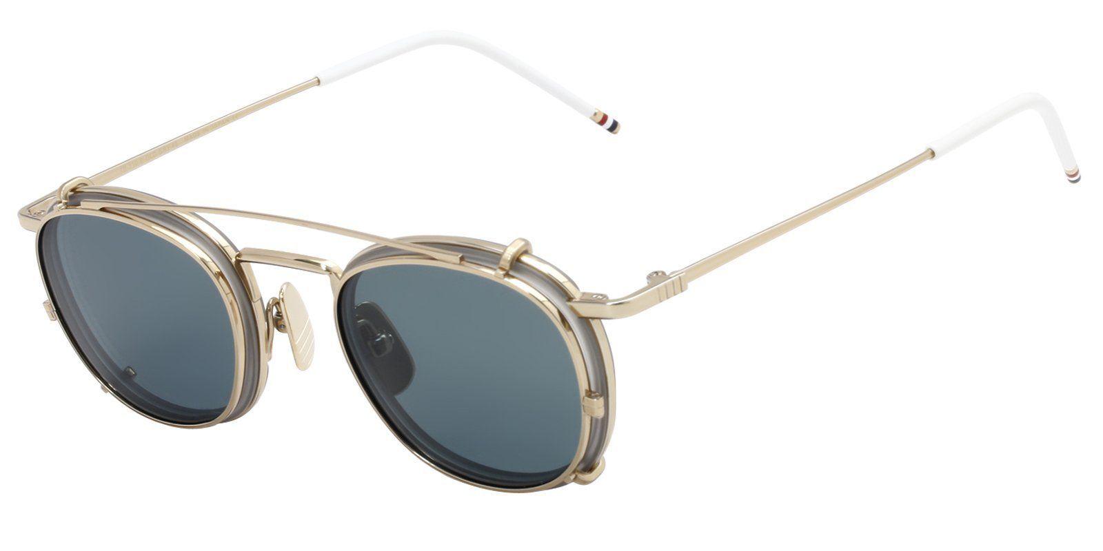 9f3f1c3d5390 Thom Browne - TB710B Gold - Green-sunglasses-Designer Eyes