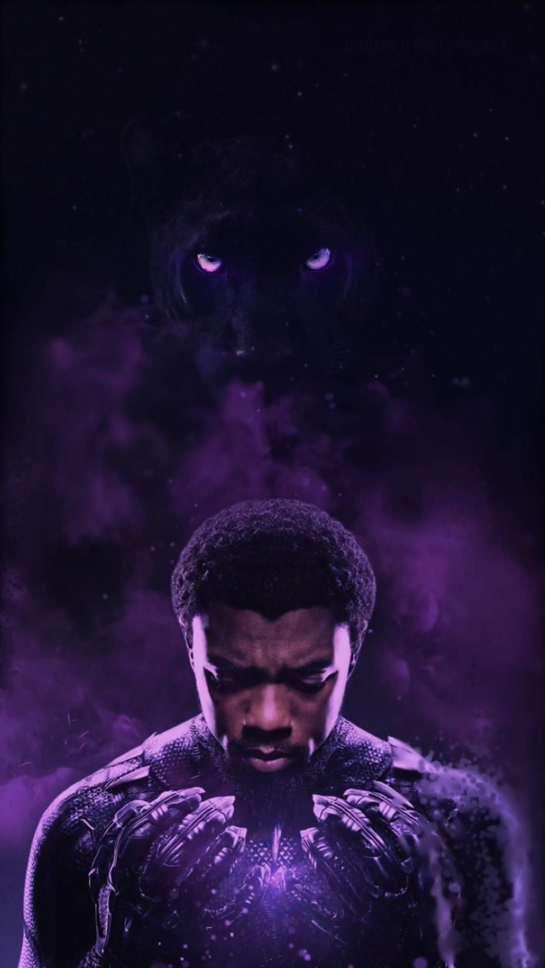 Animated Video Gif Live Wallpaper Marvel Black Panther Video Black Panther Marvel Black Panther Art Marvel Superhero Posters