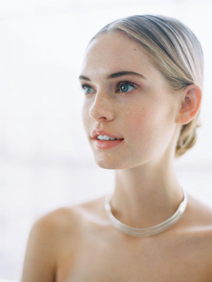Modern Minimalist Wedding With Feminine Style Once Wed Diy Wedding Makeup Natural Wedding Makeup Perfect Wedding Makeup