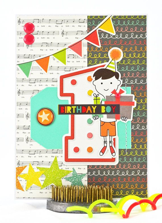 1st Birthday Card First Birthday Card First Birthday Greetings