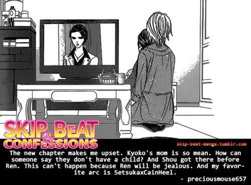 Skip Beat Confessions