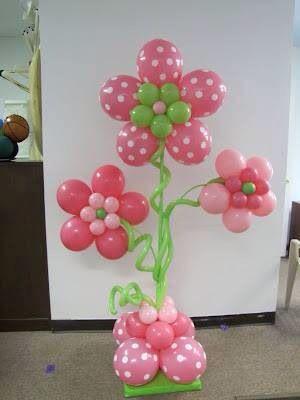 Flores de balões