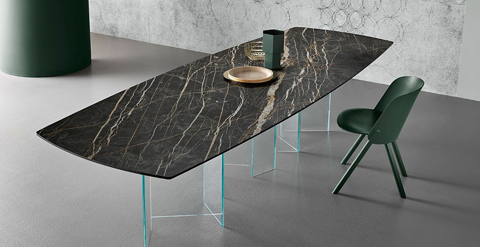 Laminam Porcelain Tile Ceramic Dining Table Cabinets And
