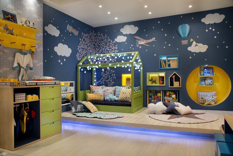 Idee Camerette ~ Illuminazione cameretta bambini u guida idee per illuminare a