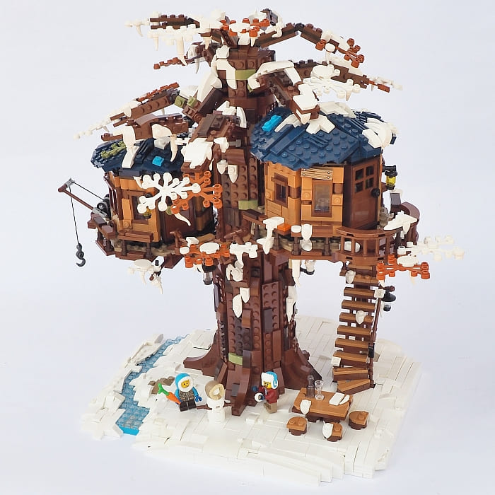 Lego Ideas Tree House Review Nature Photos Lego Tree House Tree House Lego Tree