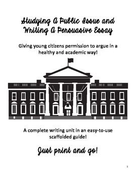 Distance Learning: Persuasive Essay Public Issues