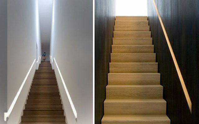 Barandillas para escaleras interiores modernas - Pasamanos escaleras interiores ...