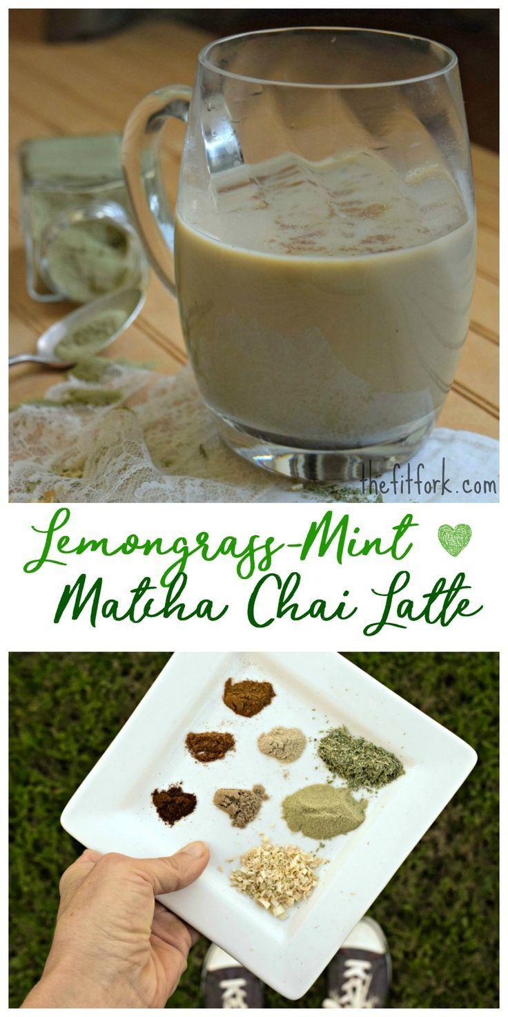 LemongrassMint Matcha Chai Latte Recipe Best non