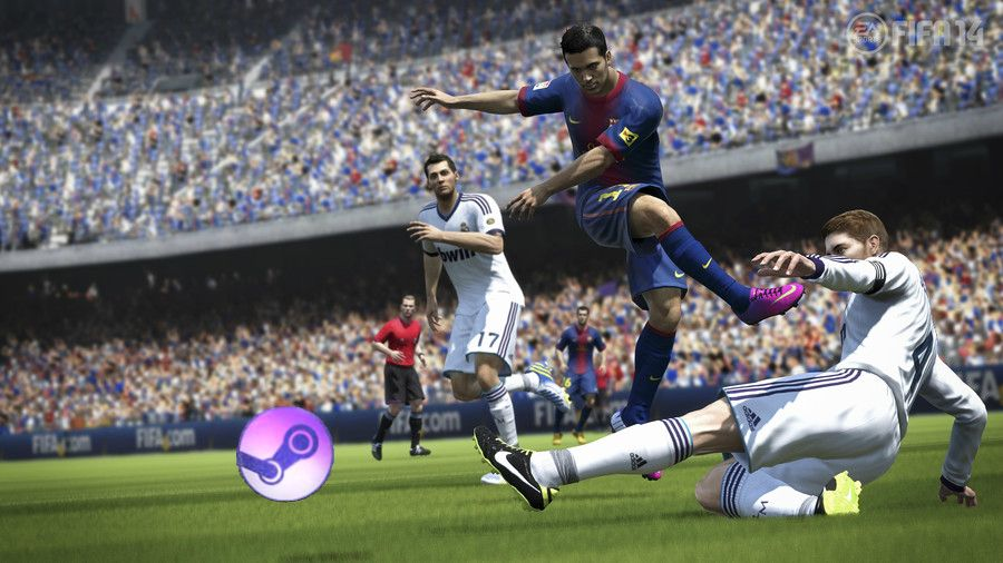 Steam Scores A Hat Trick Fifa 14 Kicks Off About It Fifa Sports Video Game Jobs
