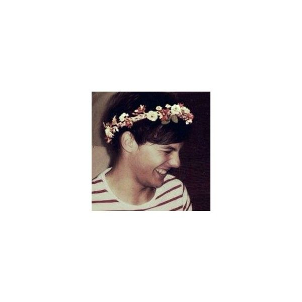 Louis Tomlinson Flower Crown Edits