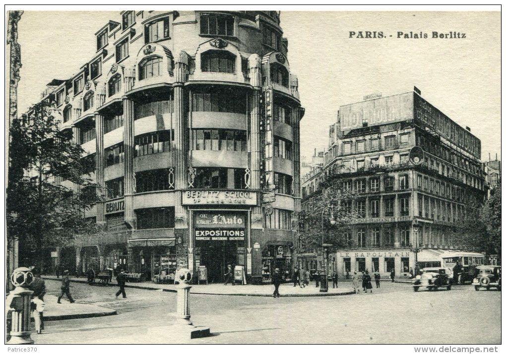 Palais du hanovre ou palais berlitz 1932 31 boulevard for Architecte grand palais