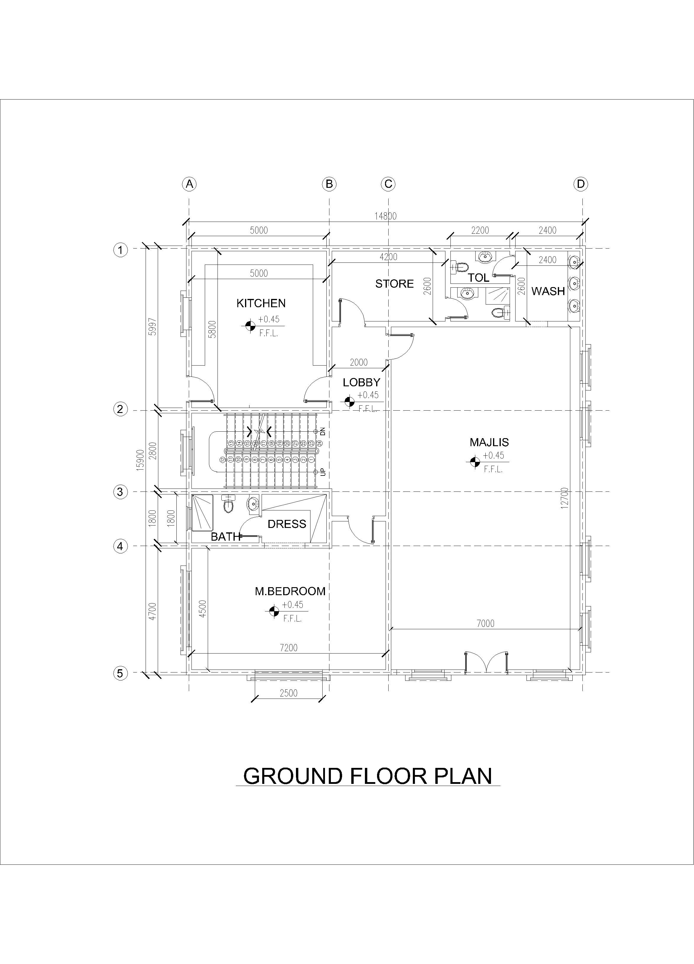 Malikluqman490 I Will Create Professional Plans For Your Business For 5 On Fiverr Com In 2020 Free House Plans Simple House Plans Model House Plan