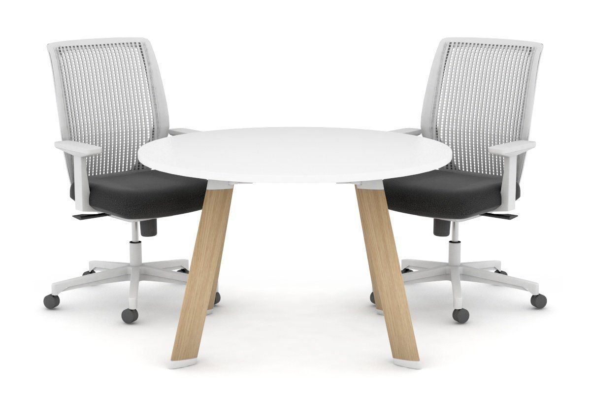 Switch Round Meeting Room Table Wood Imprint Frame 800 Mm Meeting Room Table Cafe Furniture Office Table