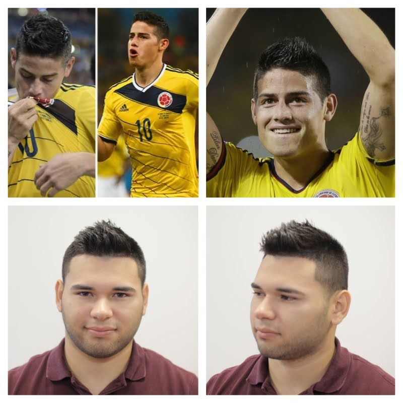 James Rodriguez Haircut Tutorial