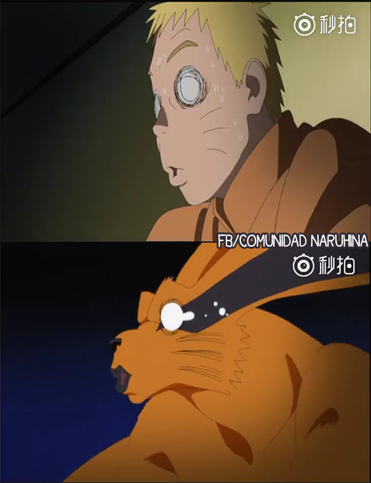when naruto gets ko d by himawari oooookay that looks like it hurt