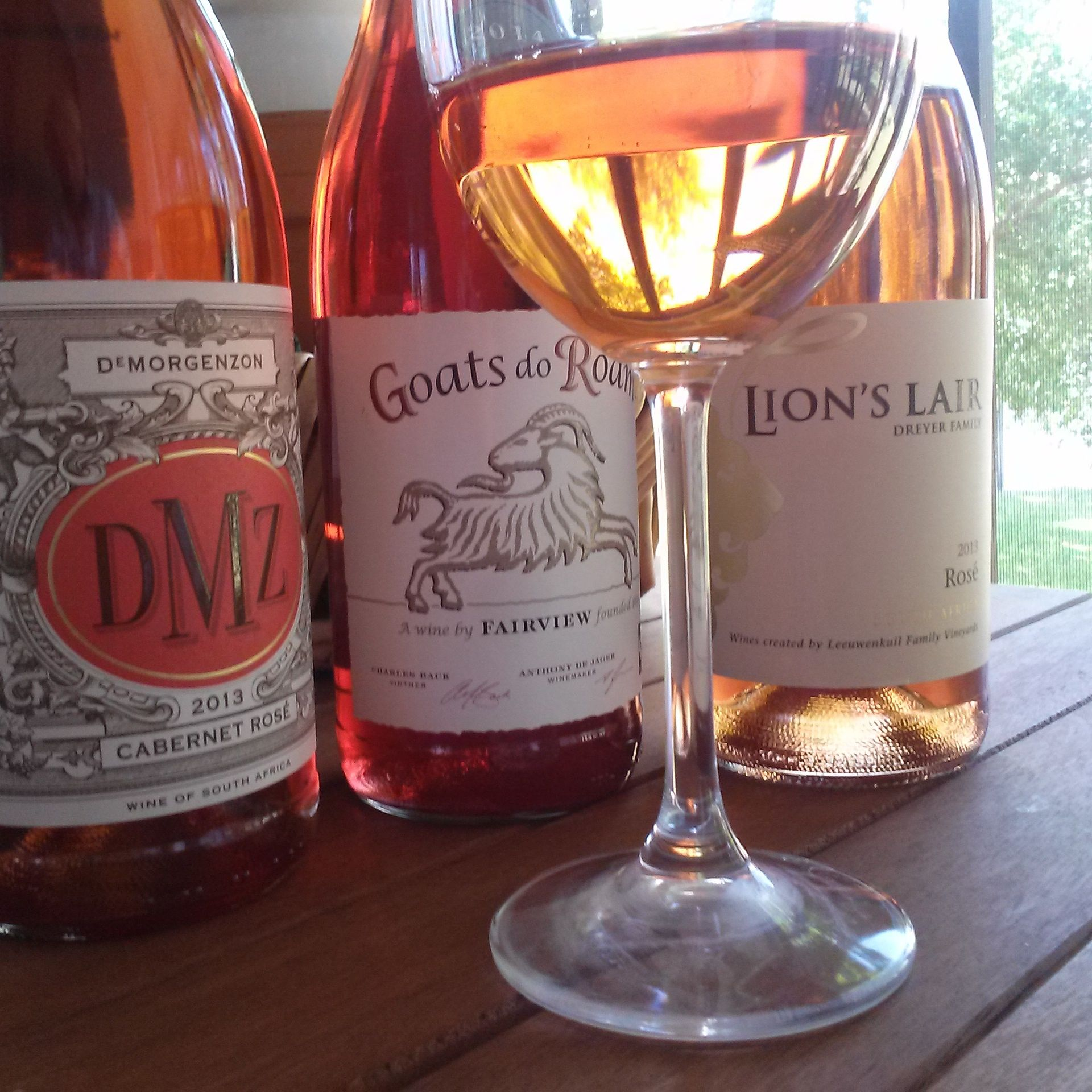 South African Value Rose Wines Wein