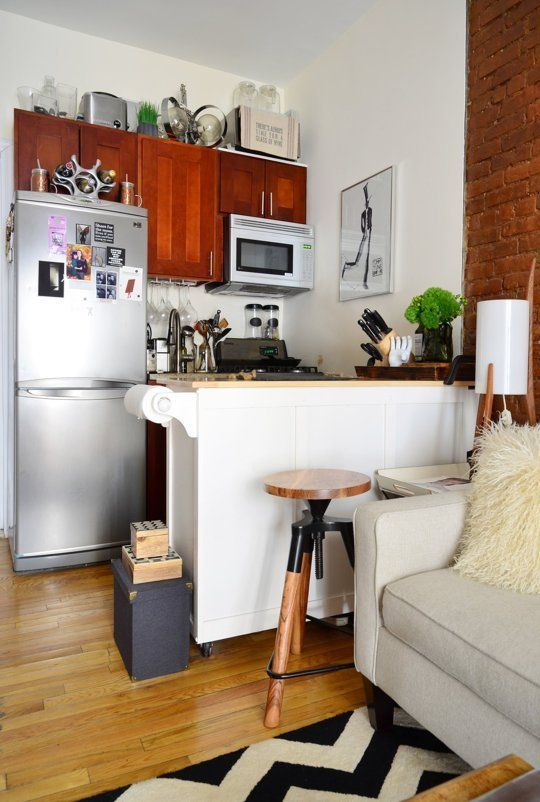 8 great house tours under 500 square feet aa rooms pinterest haus wohnen and unsere erste. Black Bedroom Furniture Sets. Home Design Ideas