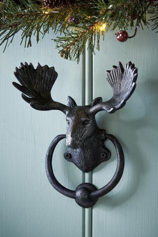 Buy Moose Door Knocker from the Next UK online shop