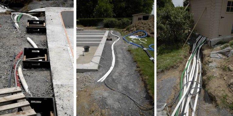 Le local technique en 2018 piscine Pinterest - Couler Une Terrasse En Beton