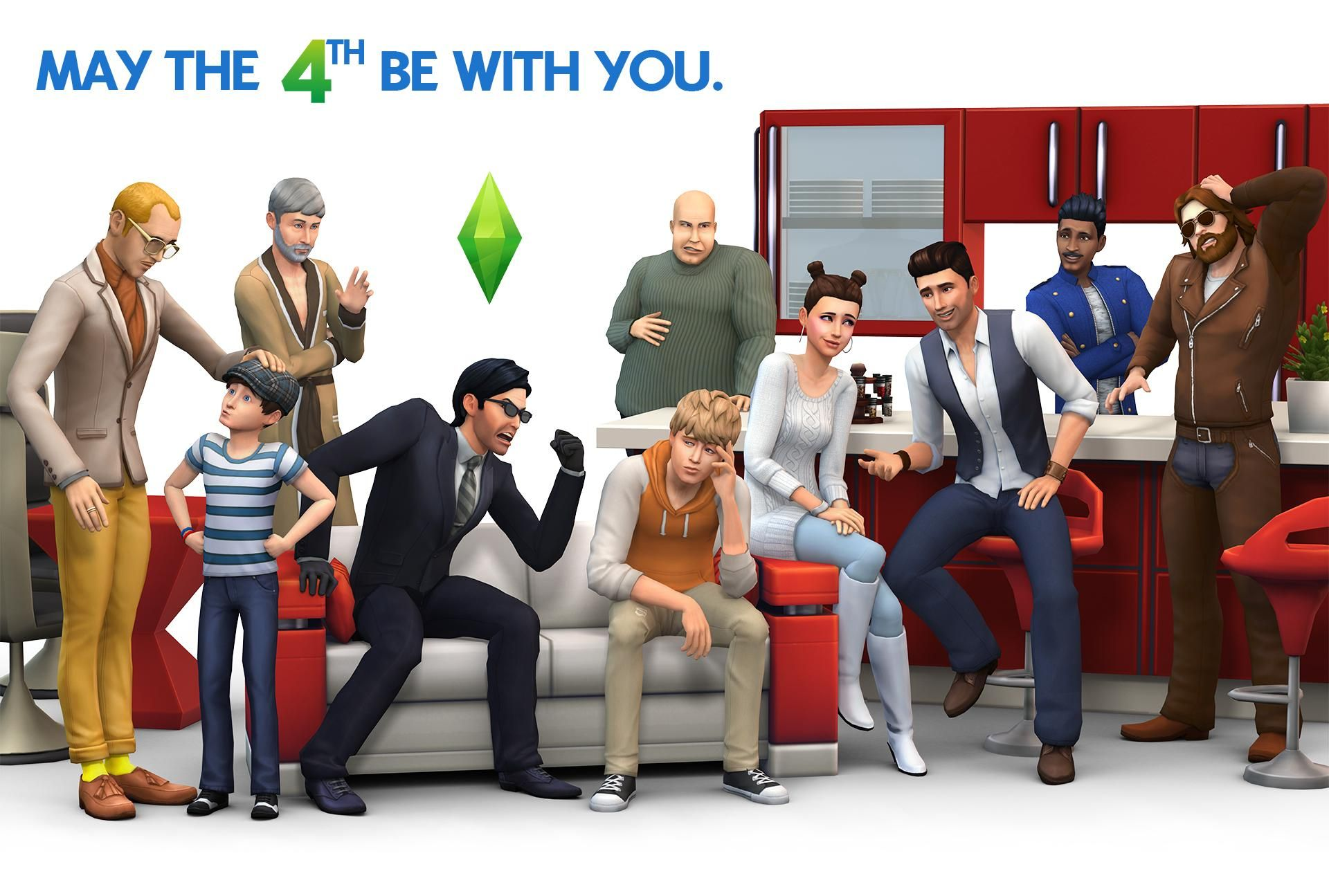Sims 4 wallpaper (With images) Sims 4 characters, Sims