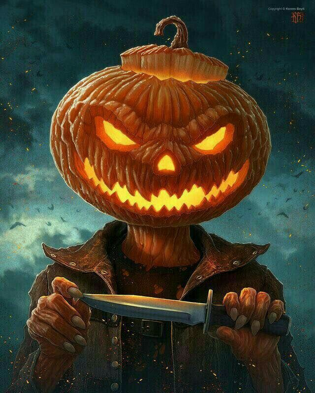 HALOWENNN Dibujos de calabazas halloween, Pantallas de