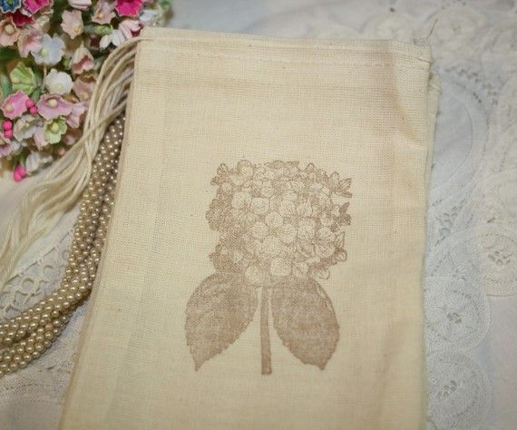 Wedding Favor Bags, Muslin Favors