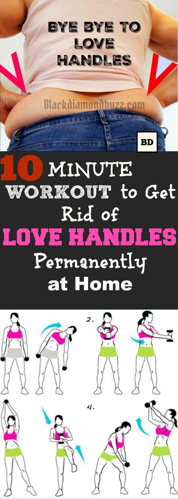 Do you want to get rid of love handles in 6 days ? Then , here are
