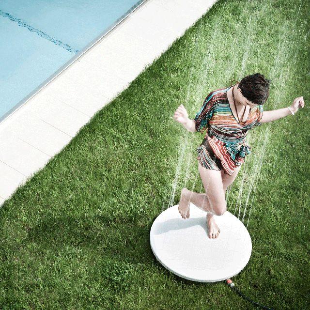 Viteo Shower Gartendusche Wow, das macht Spaß Hier kommt das - dusche im garten erfrischung sommer