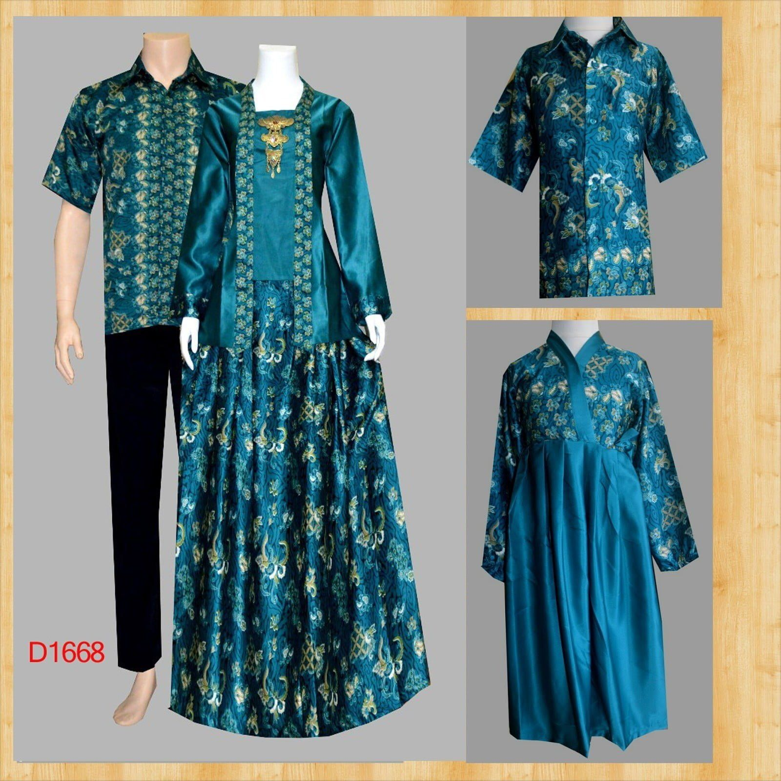 Model Gamis Batik Jumputan di 12  Wanita, Model pakaian, Model