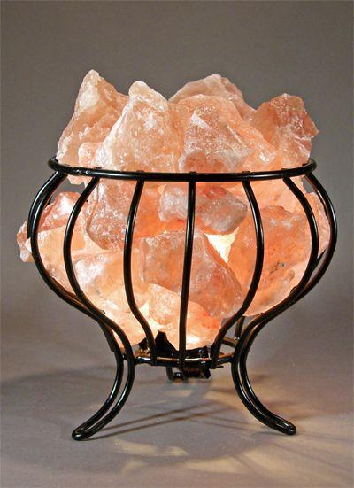 Salt Rock Feng Shui Basket Lamp Http Www Spiritualquest Com Himalayan Salt Lamp Salt Lamp Salt Lamps