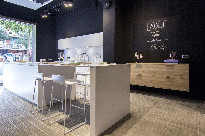 Kitchen Showrooms Santos Kitchen  Showroom De Santos Maragall En Barcelona Http