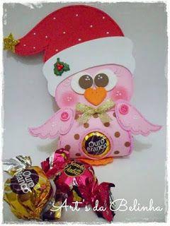 Moldes para Todo: Porta chocolate navideño
